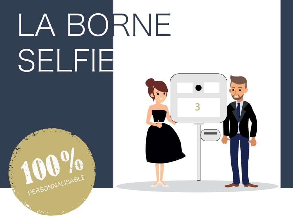La borne à Selfie. Une animation fun et ludique pour vos Salons.