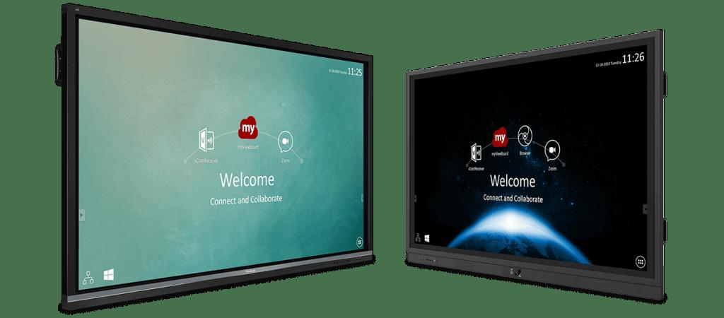 Un écran interactif pour les écoles - CGMEDIA